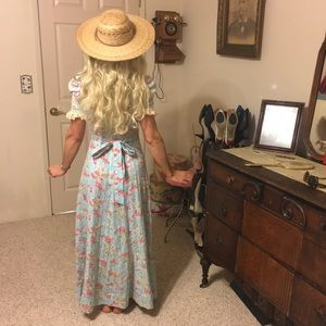 Vintage country long dress